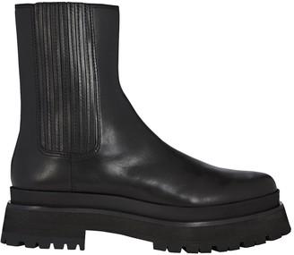 Loeffler Randall Toni Platform Chelsea Boots