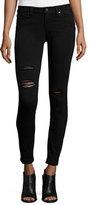 Paige Verdugo Ultra Skinny Jeans, Black
