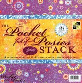 Die Cuts With a View Diecuts With A View Pocket Full of Posies 12 Inch by 12 Inch Paper Stack-48 Sheets Per Pad