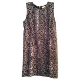 MICHAEL Michael Kors Purple Polyester Dress