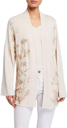 XCVI Laurie Tonal Embroidered Cardigan