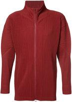 Homme Plissé Issey Miyake - zip track jacket - men - Polyester - 3