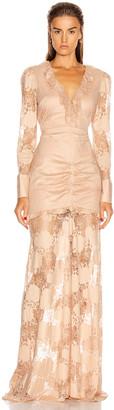 Alexis Lucasta Dress in Sand | FWRD