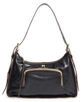 Hobo 'Harloh' Leather Shoulder Bag - Black