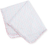 Kissy Kissy Elegant Ellie's Printed Pima Blanket, Pink