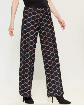 Save the Queen Honeycomb Pattern Pants