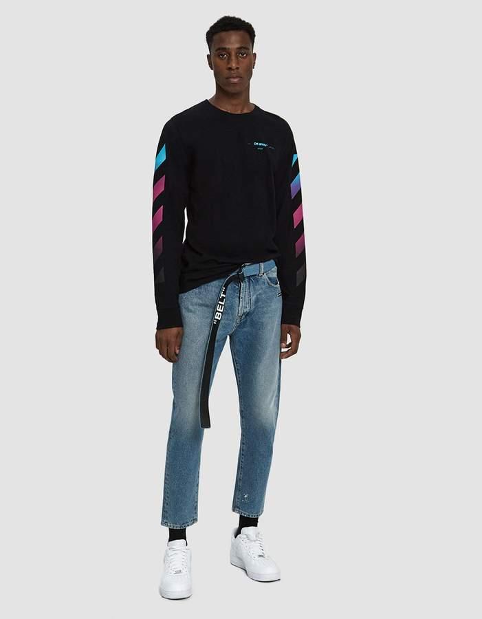 Off-White Off White Low Crotch Denim Jean