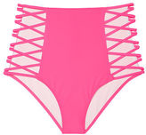 PINK High Waist Strappy Bikini Bottom