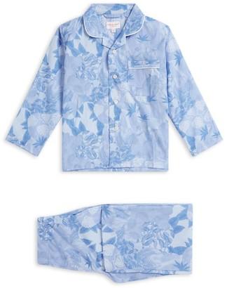 Derek Rose Kids Palm Tree Print Pyjama Set (3-16 Years)