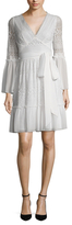 Temperley London Rope Lace Wrap Dress