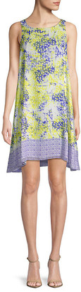 Max Studio Printed Shift Dress