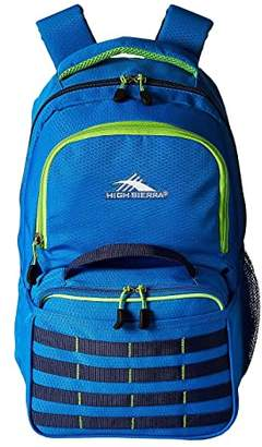 High Sierra Joel Lunch Kit Backpack (Slate/Pool) Backpack Bags