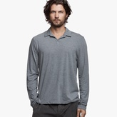 James Perse Melange Jersey Polo