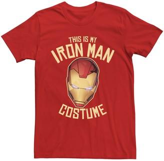 Iron Man Men's Marvel This Is My Costume Tee