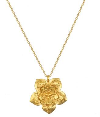 Satya Lotus Flower Paisley Necklace