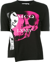 McQ by Alexander McQueen printed logo T-shirt - women - Cotton - M