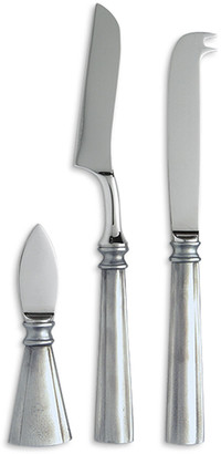 Match Lucia 3-Piece Cheese Knife Set