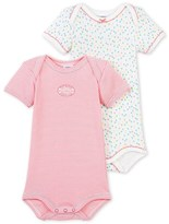 Petit Bateau Set of 2 baby girls bodysuits