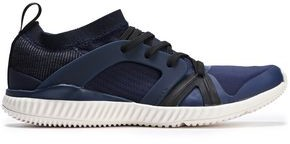 adidas by Stella McCartney Crazy Train Pro S Pvc-trimmed Stretch-knit Sneakers