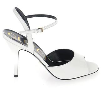 Gucci Peep-Toe Stiletto Heel Sandals