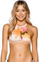 Billabong Warhol Surf High Neck Bikini Top