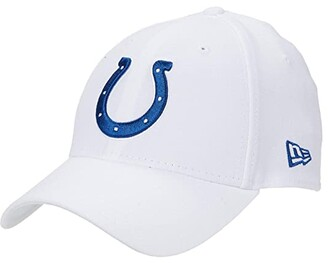 New Era NFL Stretch Fit White 3930 -- Indianapolis Colts (White) Baseball Caps