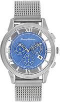 Tommy Bahama Watch, Men's Swiss Chronograph Stainless Steel Mesh Bracelet 42mm TB3047