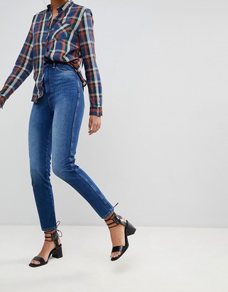 Pepe Jeans Betty High Waisted Skinny Jeans-Blue