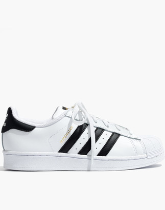 Madewell Adidas Unisex Superstar Lace-Up Sneakers