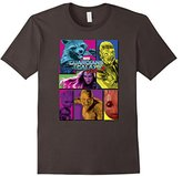 Marvel Guardians of the Galaxy 2 Team Puzzle Graphic T-Shirt