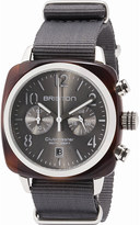 Briston 15140.SA.T.11.NG Clubmaster Cassic acetate and canvas chronograph watch