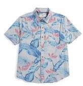 Billabong Haliewa Woven Cotton Shirt (Big Boys)