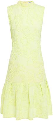 Erdem Nena Fluted Cloque Dress