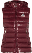 Pyrenex Spoutnic Quilted Glossed-shell Down Gilet - Burgundy
