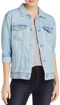 AG Jeans Blue Jay Distressed Denim Jacket