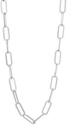 Jennifer Zeuner Jewelry Marta Sterling Silver Chain-Link Necklace