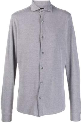 Ermenegildo Zegna longsleeved textured shirt