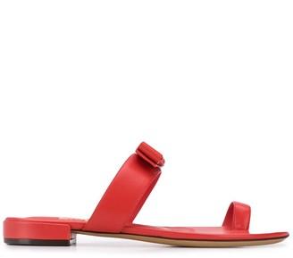 Salvatore Ferragamo Slip-On Sandals