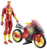 Spiderman Ultimate Vs. The Sinister Six: Titan Hero Series Iron Spider w/ Cycle