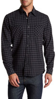 James Campbell Paradigm Check Regular Fit Shirt
