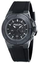 Black Dice The Veteran Men's Quartz Watch with Black Dial Chronograph Display and Black Silicone Strap BD 068 03