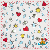 Vivienne Westwood Off White Sun and Rain Handkerchief
