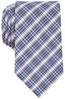 Nautica Silk Blend Navy Plaid Tie