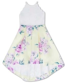 Speechless Big Girls Pleated Floral Dress