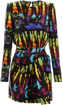 DSQUARED2 Tie-dye Dress