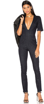 3x1 WR Plunge Jumpsuit in Blue. - size XS (also in )