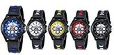 Navion Cool Boys Girls Sport Casual Silicone Wrist Watches Wholesales 5 Pcs