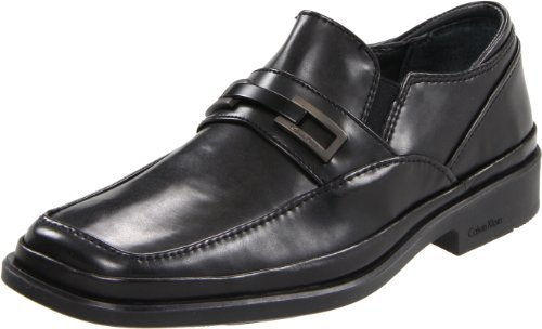 Calvin Klein Men's Vallen Slip-On,Black,8 M US