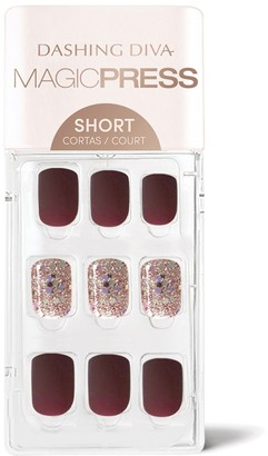 DASHING DIVA Magic Press on Nails Pump Up the Jam - Short
