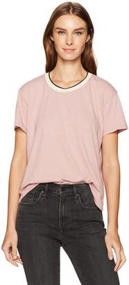 Velvet by Graham & Spencer Women's Slub Ringer T-Shirt